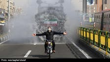 Watch: Iran uses water cannons to disinfect streets amid coronavirus outbreak