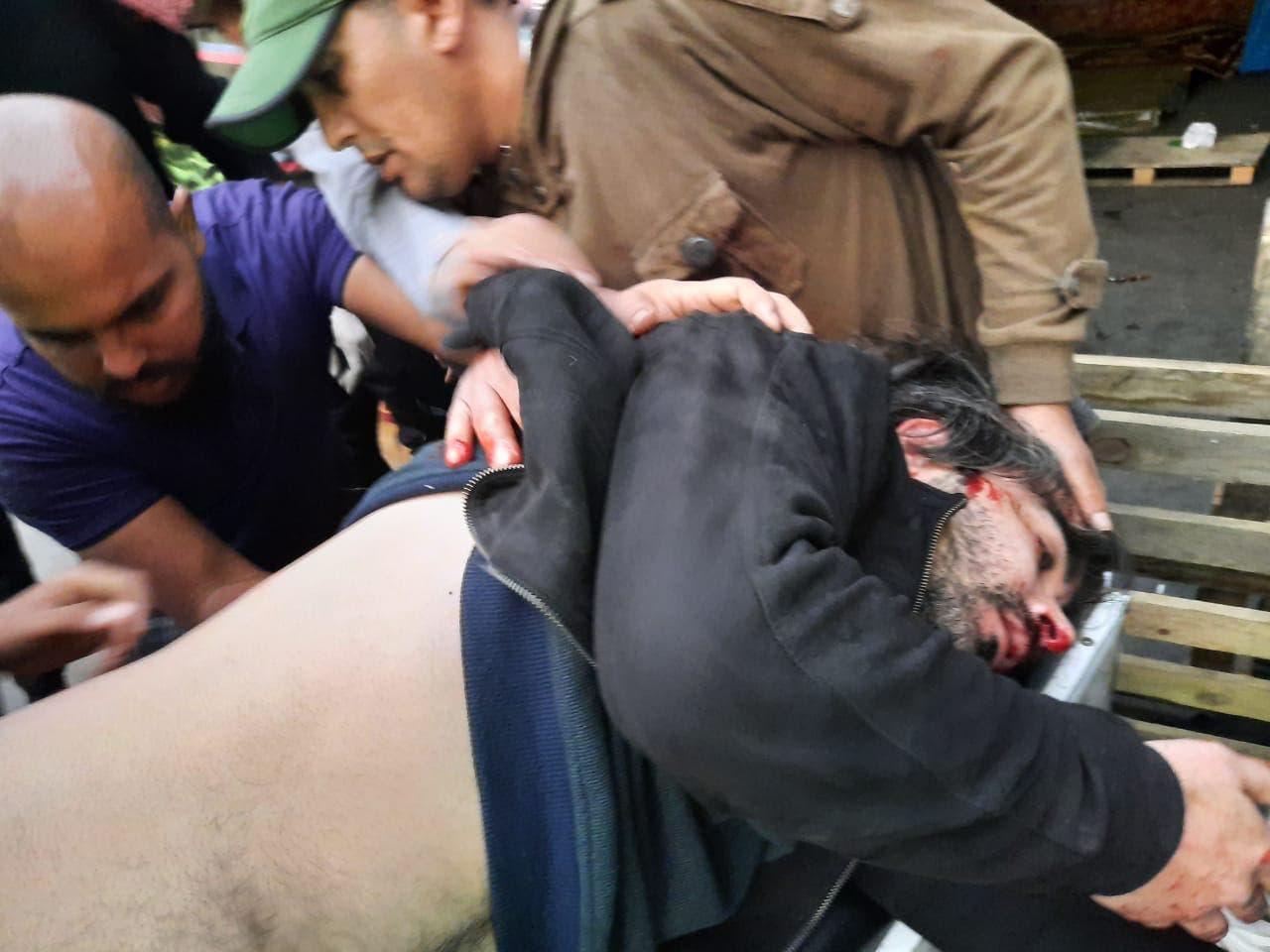 الناشط العراقي حسين رحم