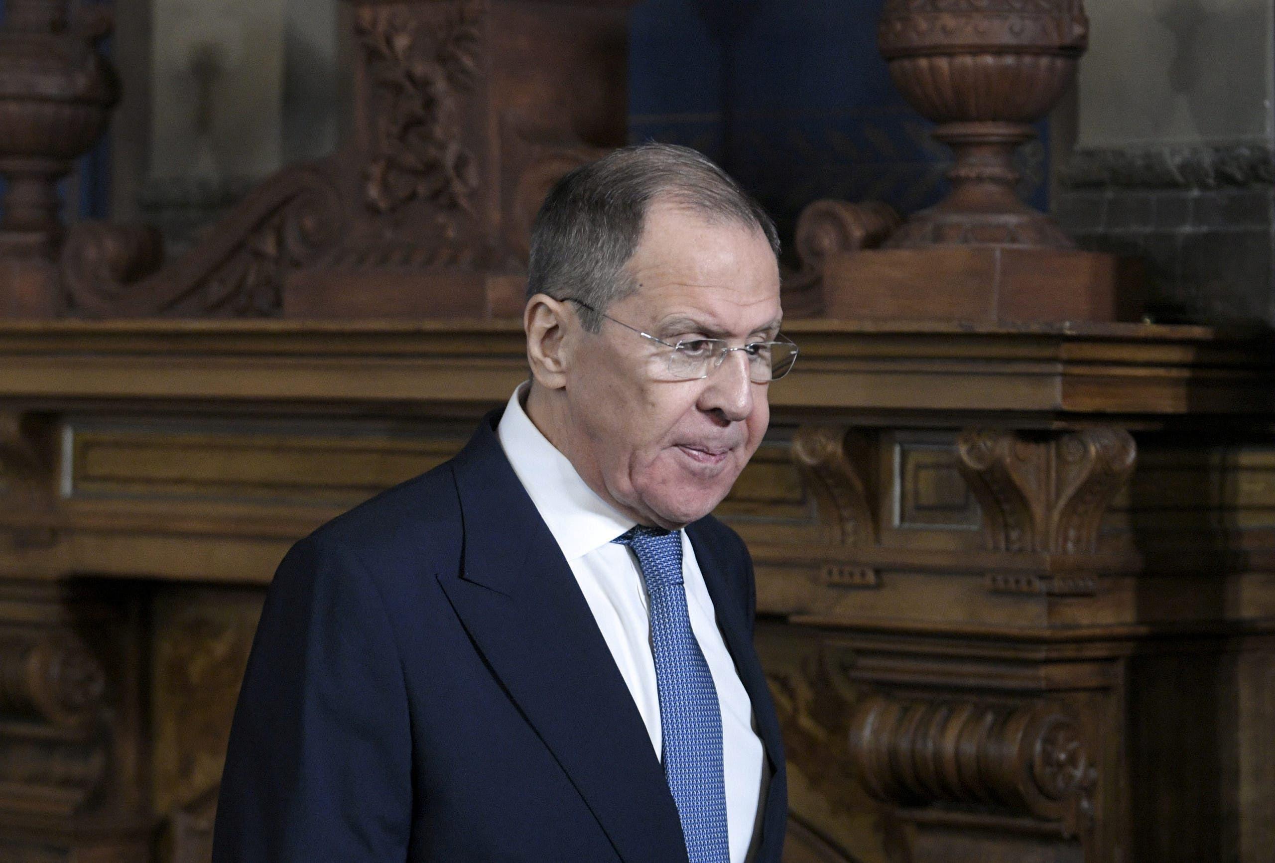 وزير الخارجية الروسي سيرغي لافروف(أرشيفية-رويترز)