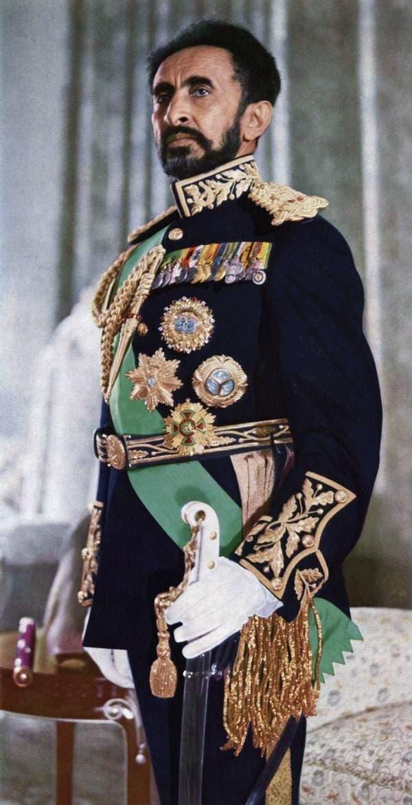 صورة لإمبراطور إثيوبيا هيلي سيلاسي