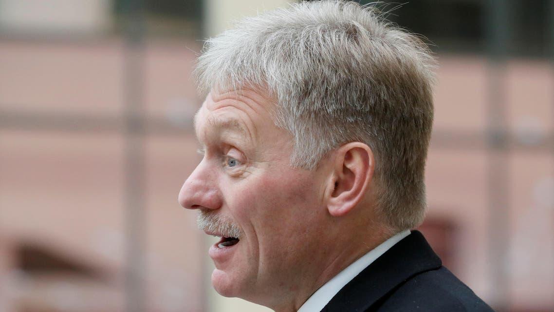 Kremlin spokesman Dmitry Peskov. (Reuters)