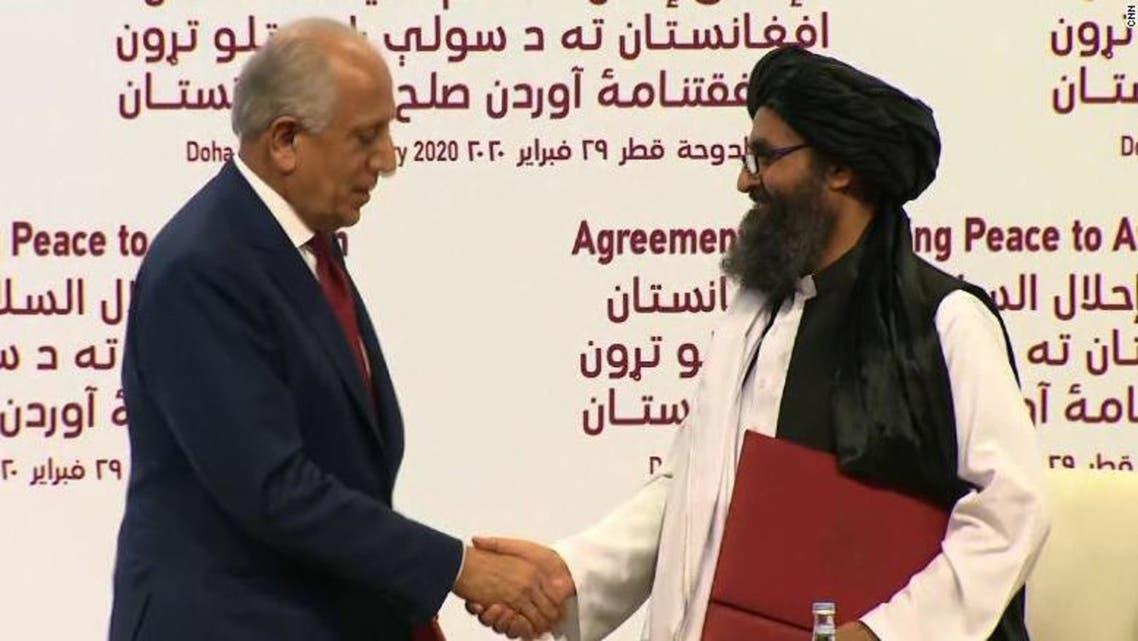 منبع: حکومت افغانستان از جزئیات توافقنامه امریکا با طالبان خبر ندارد