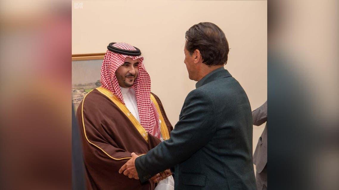 Prince Khaled bin Salman imran khan