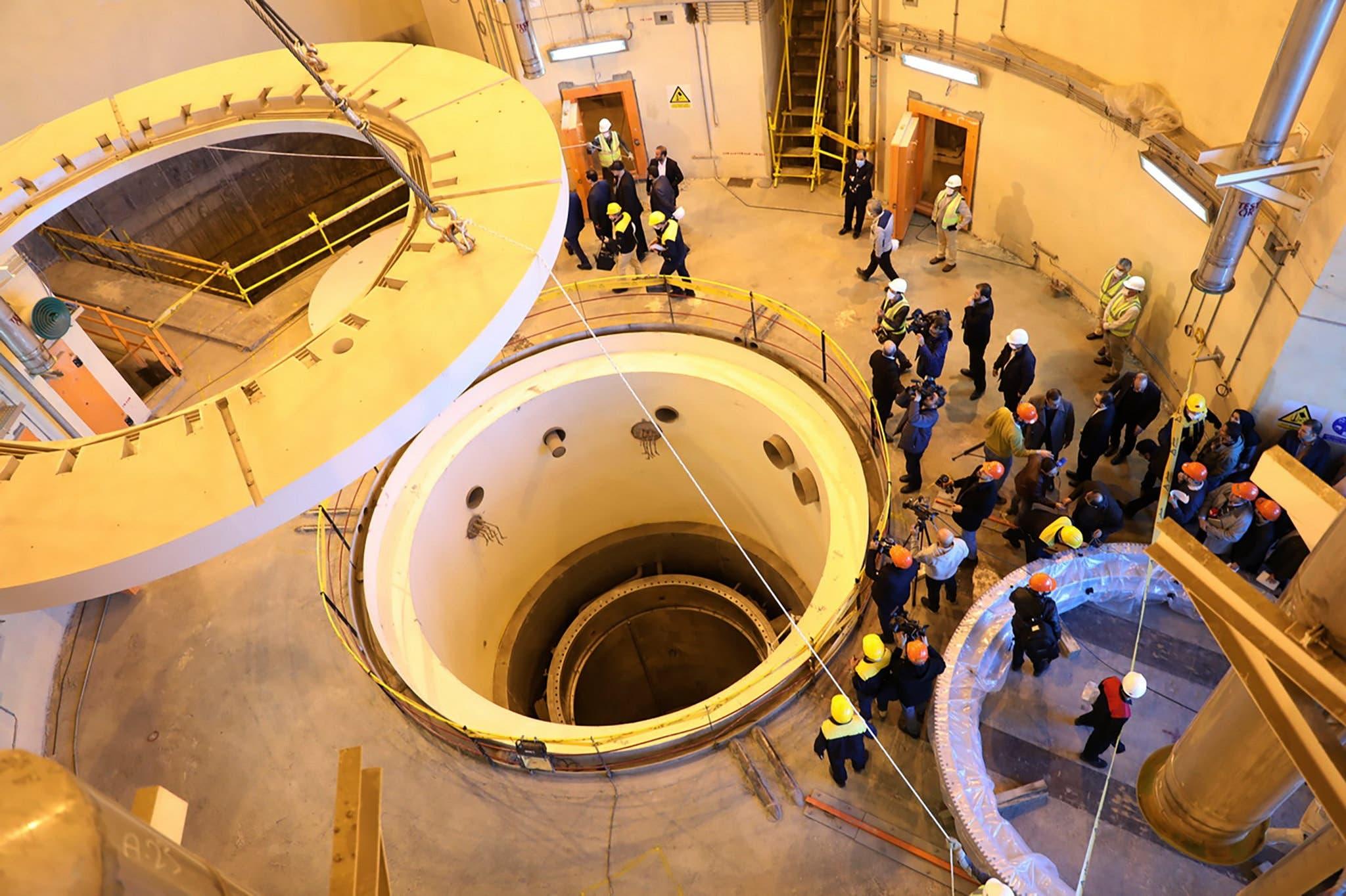 مفاعل آراك في إيران(أرشيفية)