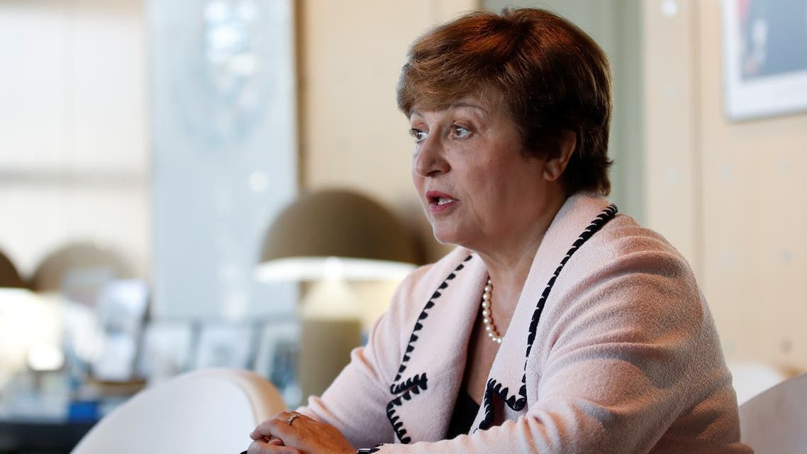 رئيسة صندوق النقد الدولي كريستالينا جورجييفا