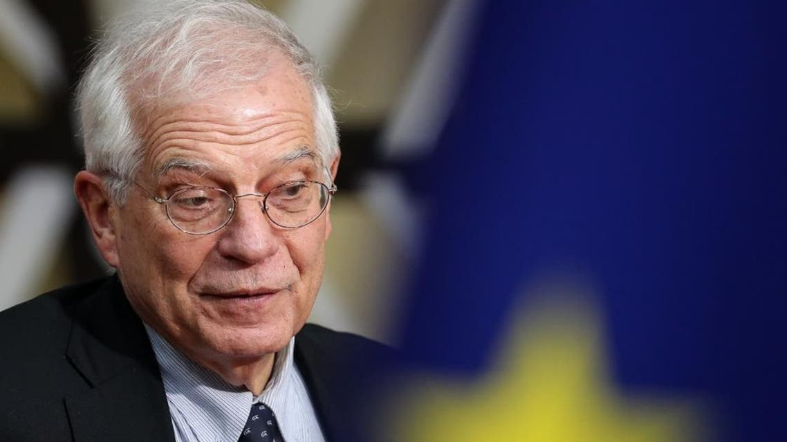 European Union High Representative for Foreign Affairs and Security Policy Josep Borrell AFP