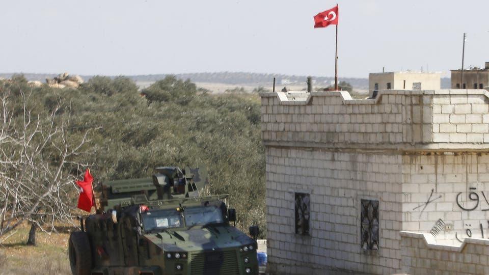 """نقطة مراقبة تركية في إدلب """"أرشيفية"""""""