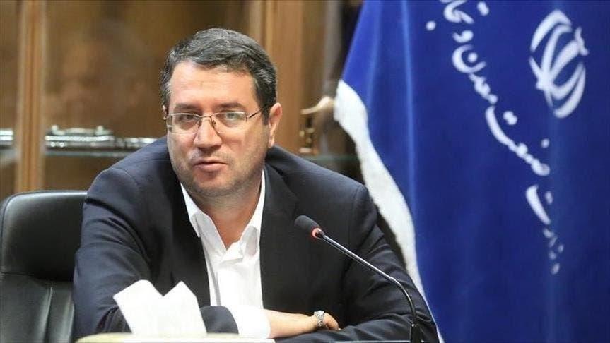 وزير الصناعة الإيراني رضا رحماني