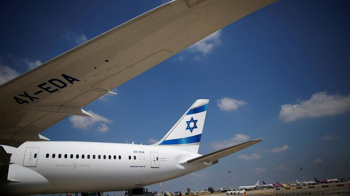 The first of Israel's El Al Airlines order of 16 Boeing 787 Dreamliner jets lands at Ben Gurion International Airport, near Tel Aviv. (File photo: Reuters)