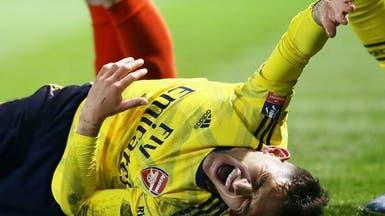 أرسنال: توريرا أصيب بكسر في الكاحل