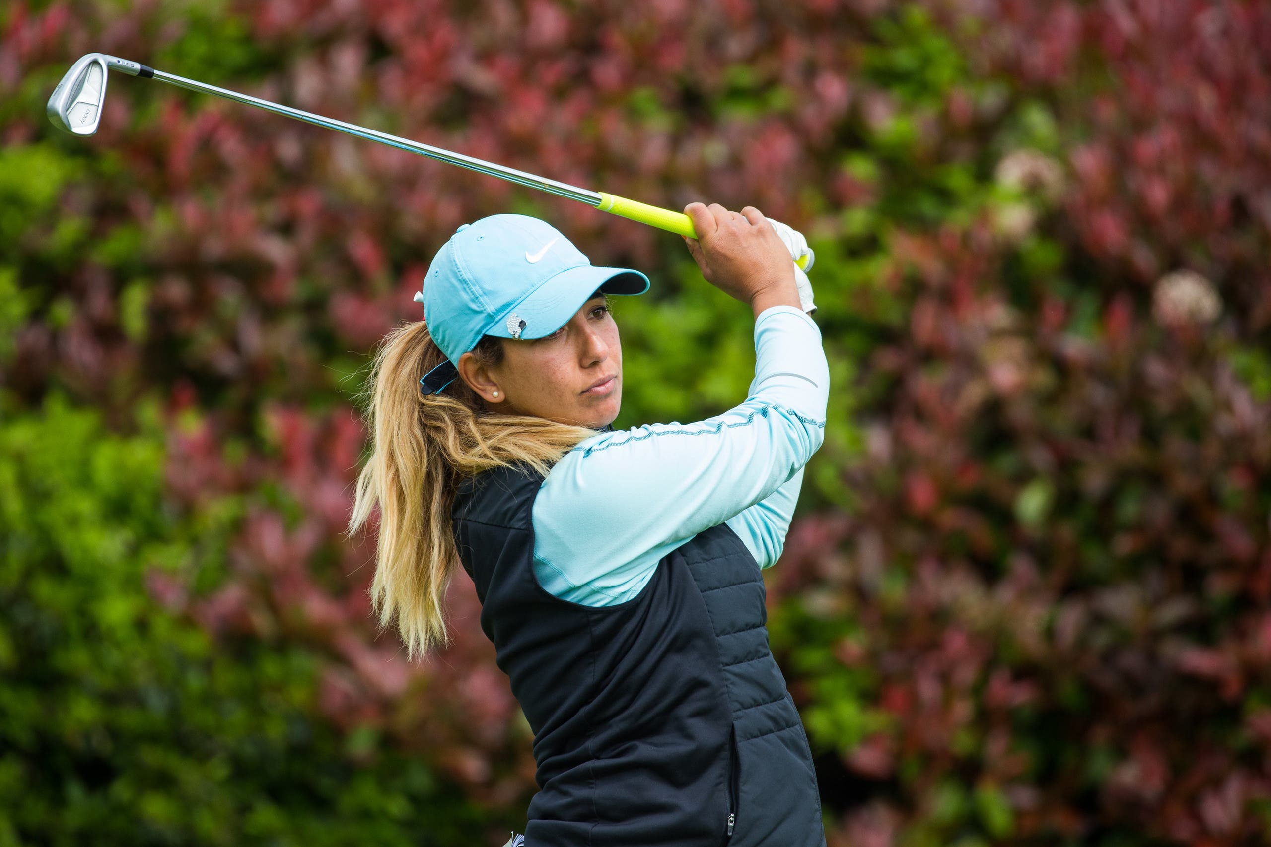 Maha Haddioui was the first Arabic woman to play on the Ladies European Tour (Supplied)