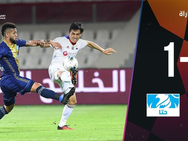 حتا يوقف الشارقة في الدوري الإماراتي