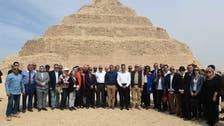 العناني: رممنا هرم زوسر أقدم مبنى حجري بتاريخ البشرية
