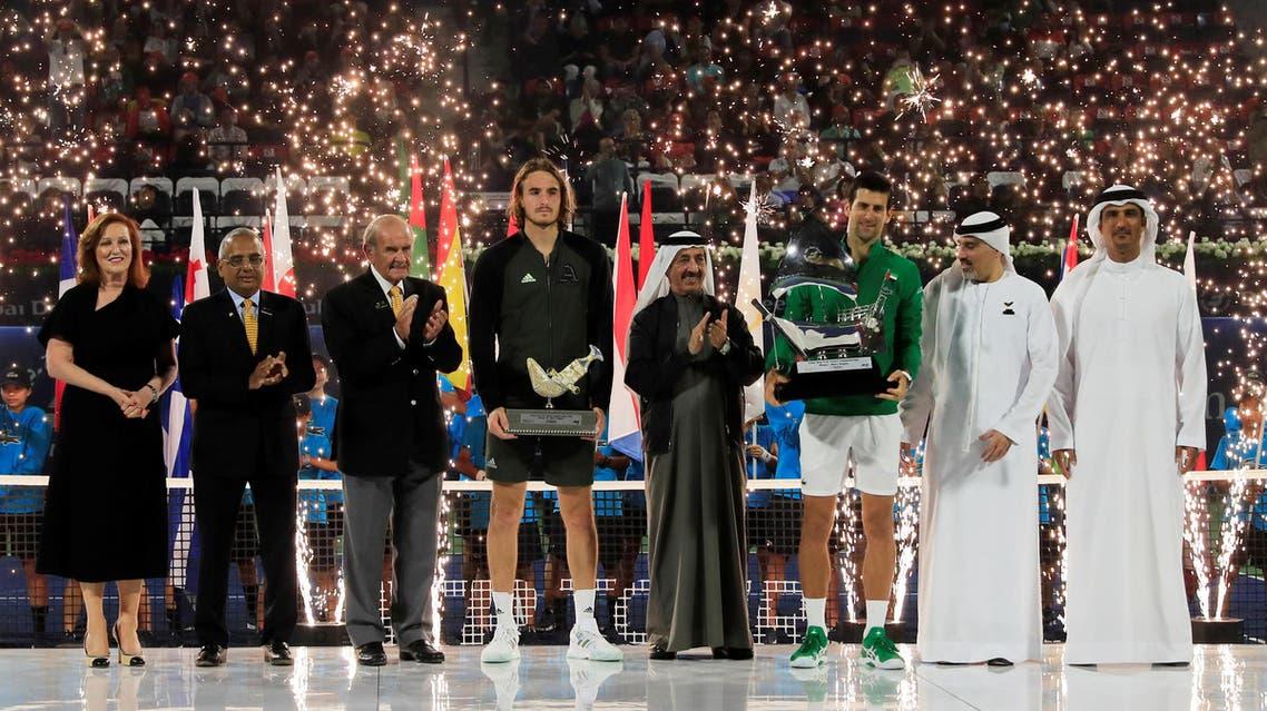 ATP 500 - Dubai Tennis Championships - Dubai Duty Free Tennis Stadium, Dubai, United Arab Emirates. (Reuters)