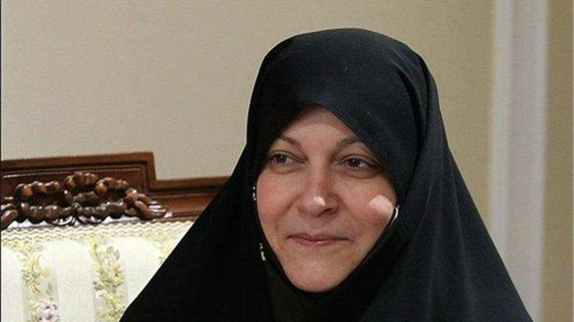Iranian MP Fatemeh Rahbar. (Twitter)