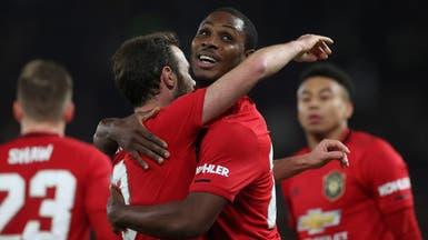 """إيغالو سعيد بأول """"ثنائية"""" له بقميص مانشستر يونايتد"""