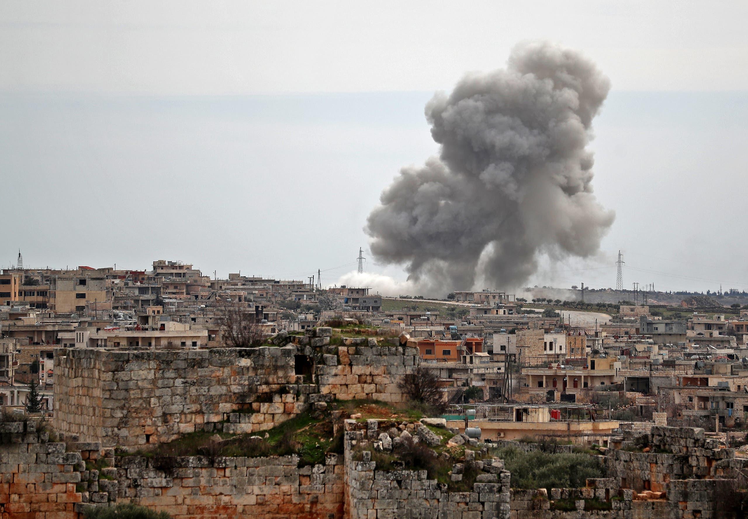 من إدلب (5 مارس 2020- فرانس برس)