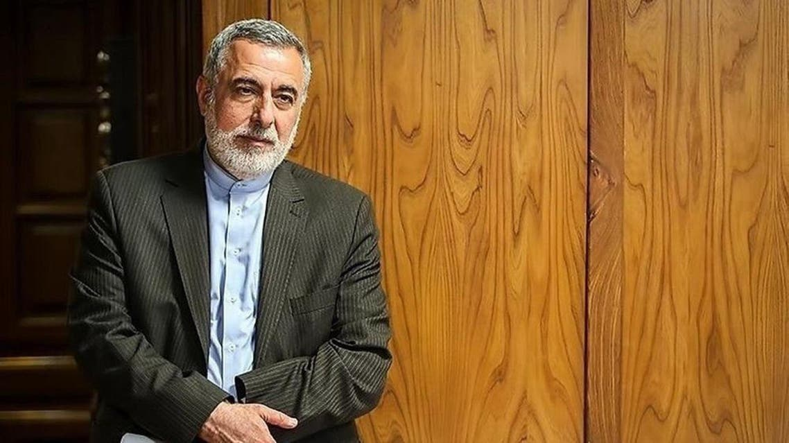 Hossein Sheikholeslam, Iran's former ambassador to Syria and a former advisor to current Foreign Minister Mohammad Javad Zarif. (Twitter)
