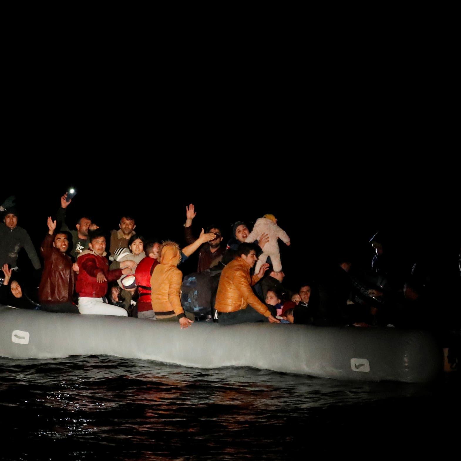 أردوغان يتراجع.. ويمنع المهاجرينمن عبور بحر إيجه