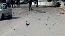 المشاهد الأولى للتفجير الانتحاري قرب سفارة أميركا بتونس
