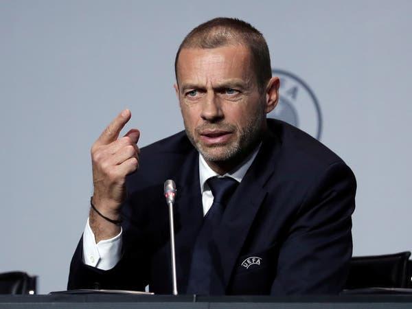 """رئيس """"يويفا"""" يطلب من إنجلترا إلغاء كأس الرابطة"""