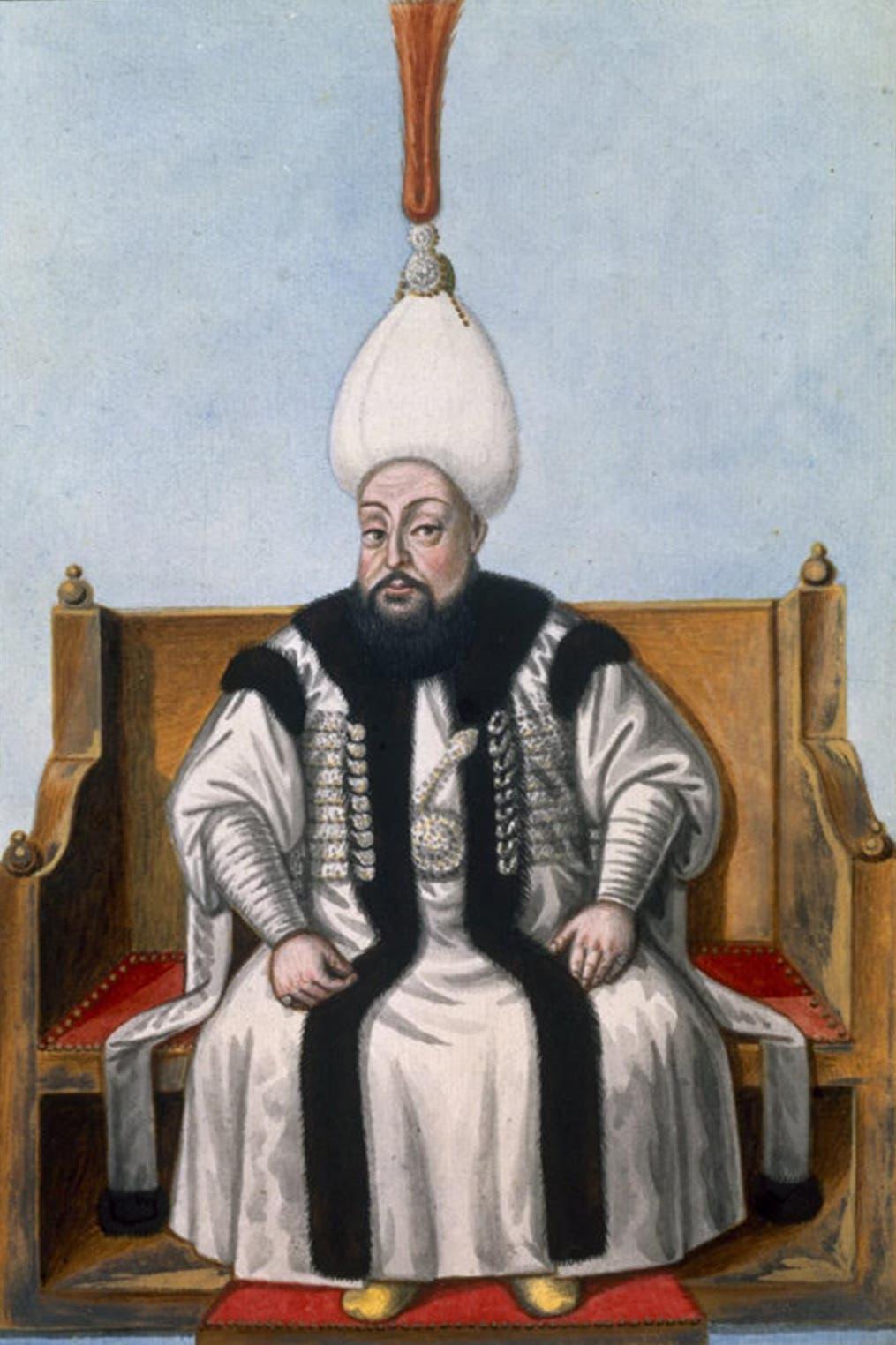 صورة للسلطان العثماني مصطفى الثالث