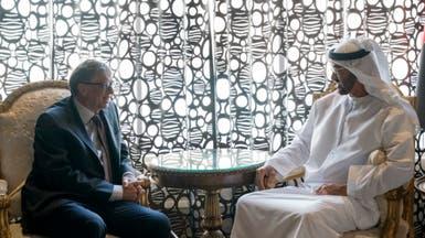محمد بن زايد وبيل غيتس يبحثان تضافر الجهود ضد كورونا