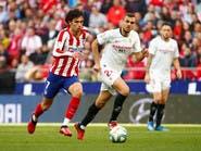 إِشبيلية يفرض التعادل على أتلتيكو مدريد