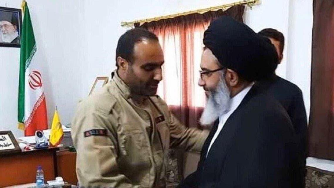 Farhad Dabiryan, commander of Iran's IRGC, was killed in Syria. (Twitter)
