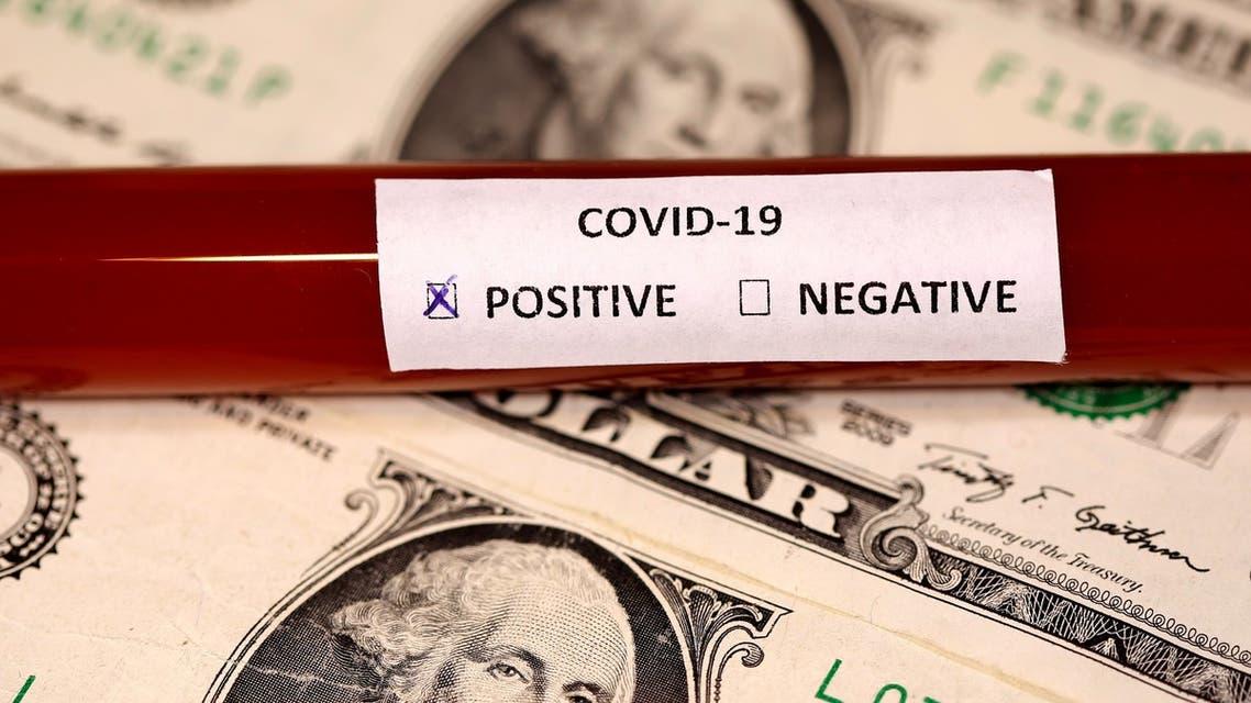 الدولار الاميركي الامريكي فيروس كورونا