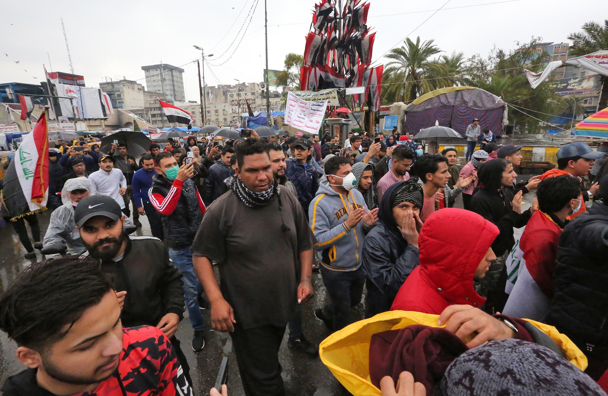 من ساحة التحرير في بغداد (أرشيفية)