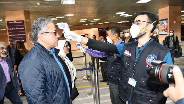 باخرة مصر الموبوءة بكورونا.. إجراءات صحية مشددة بمطار الأقصر