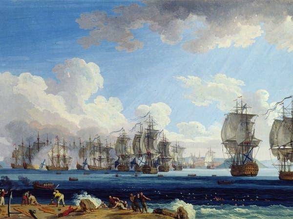 يوم أحرق الروس الأسطول العثماني بالمتوسط وغيروا التاريخ