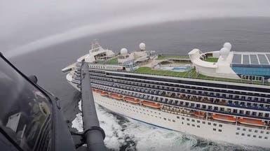 سفينة أميركية موبوءة بفيروس كورونا سترسو في أوكلاند