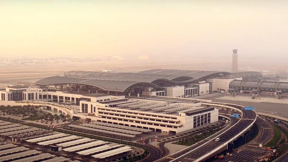 Muscat international Airport, Oman. (Screengrab)