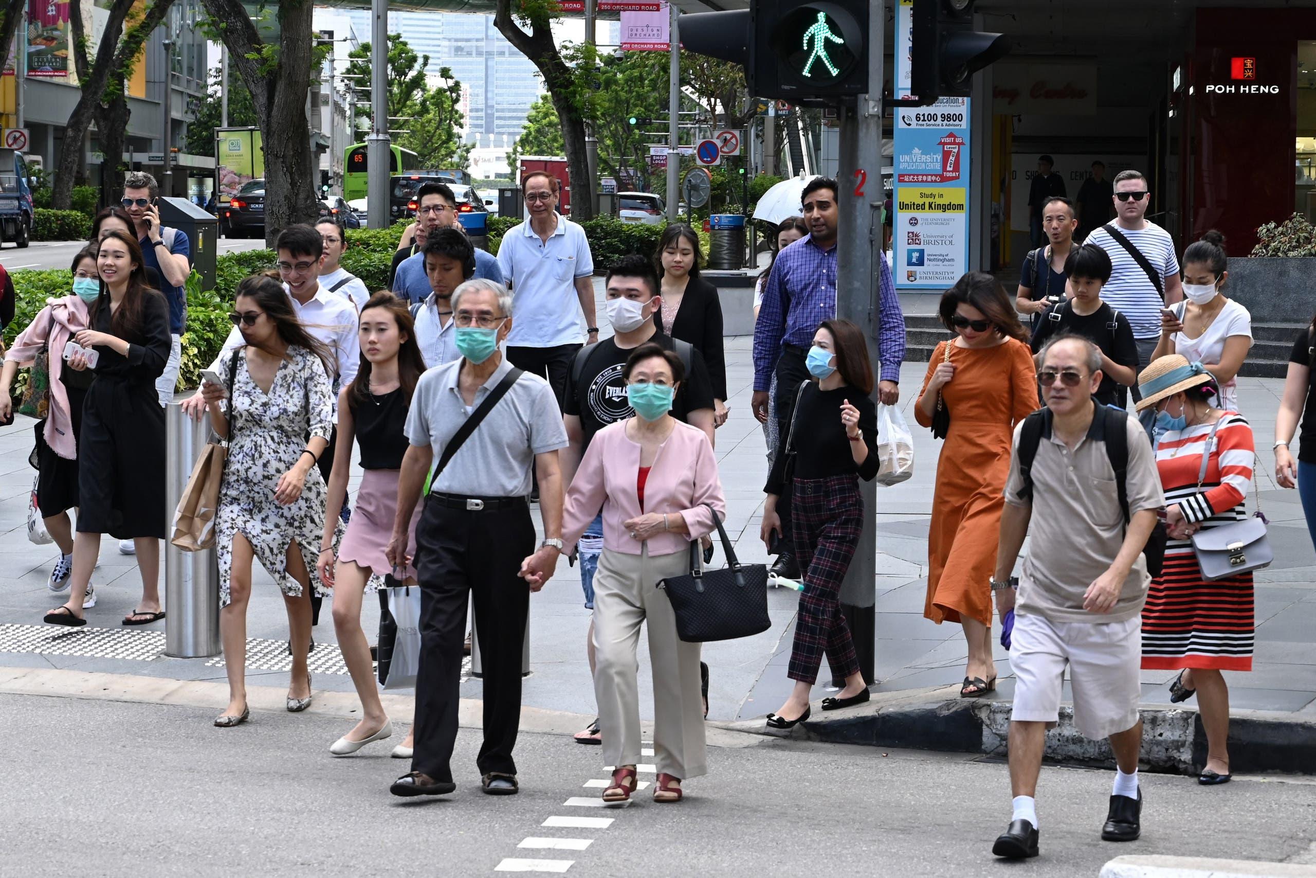 استمرار الحركة في سنغافورة