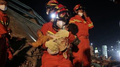 """الصين.. 10 قتلى بانهيار """"فندق صحي"""" وتخفيف لإجراءات الحجر"""
