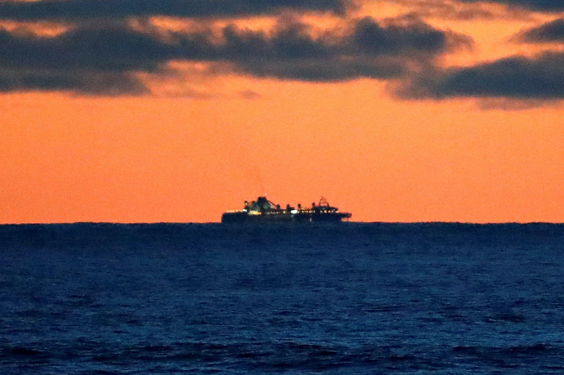 سفينة أميركة الموبوءة بفيروس كورونا غراند برنسيس