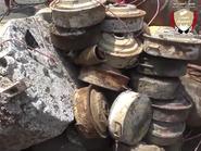 شاهد.. تفجير 9 أطنان من الألغام الحوثية في الحديدة