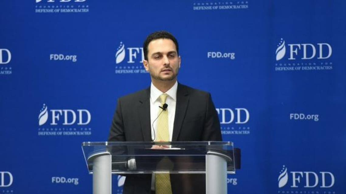 David Peyman, the deputy assistant secretary of state for counter threat finance and sanctions at the Foundation for Defense of Democracies, a think thank that supports tough sanctions on Iran.(Courtesy/Twitter)