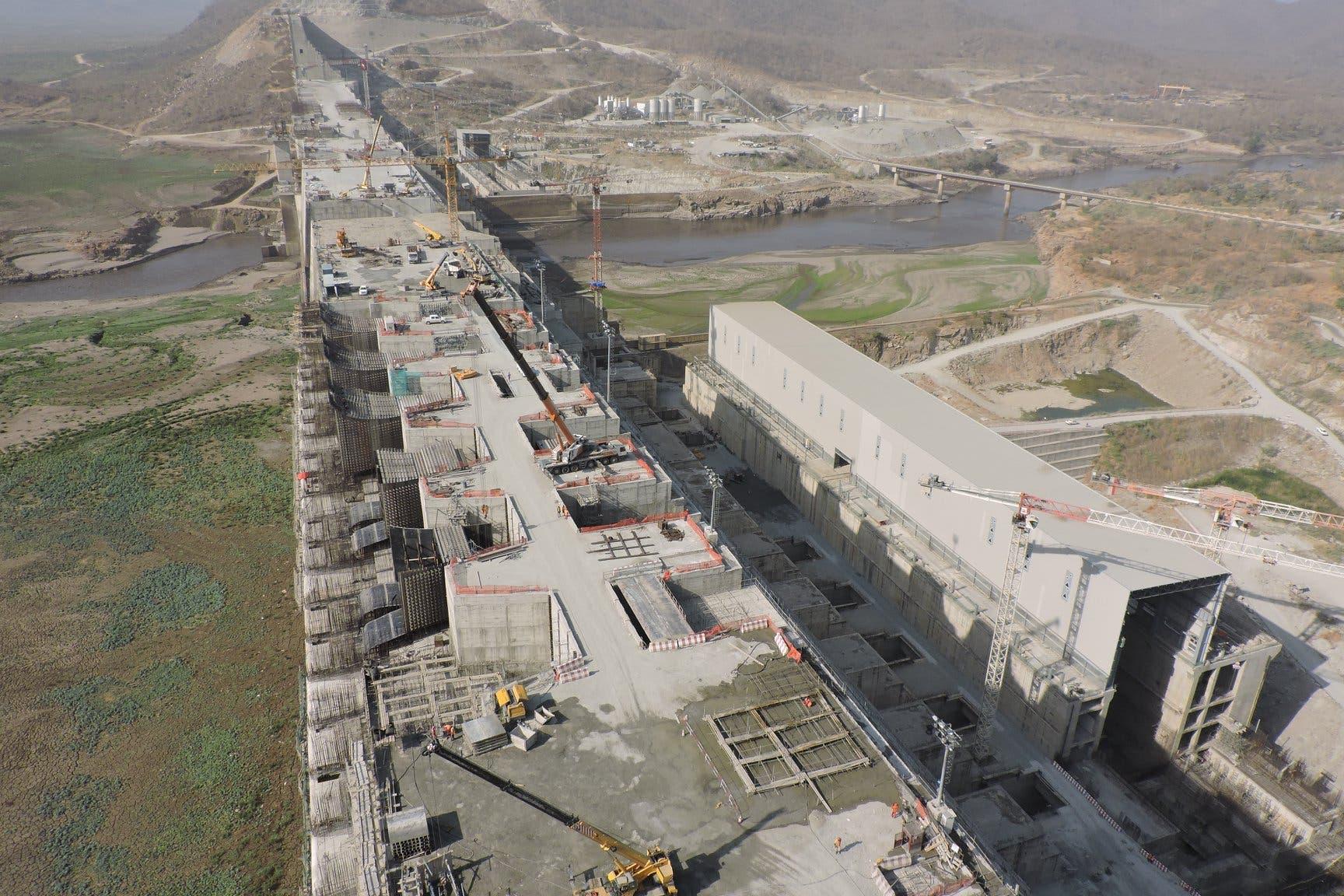 من بناء سد النهضة الإثيوبي