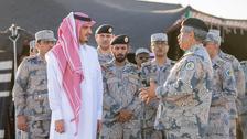 Saudi Arabia's interior minister visits border control center in Tabuk