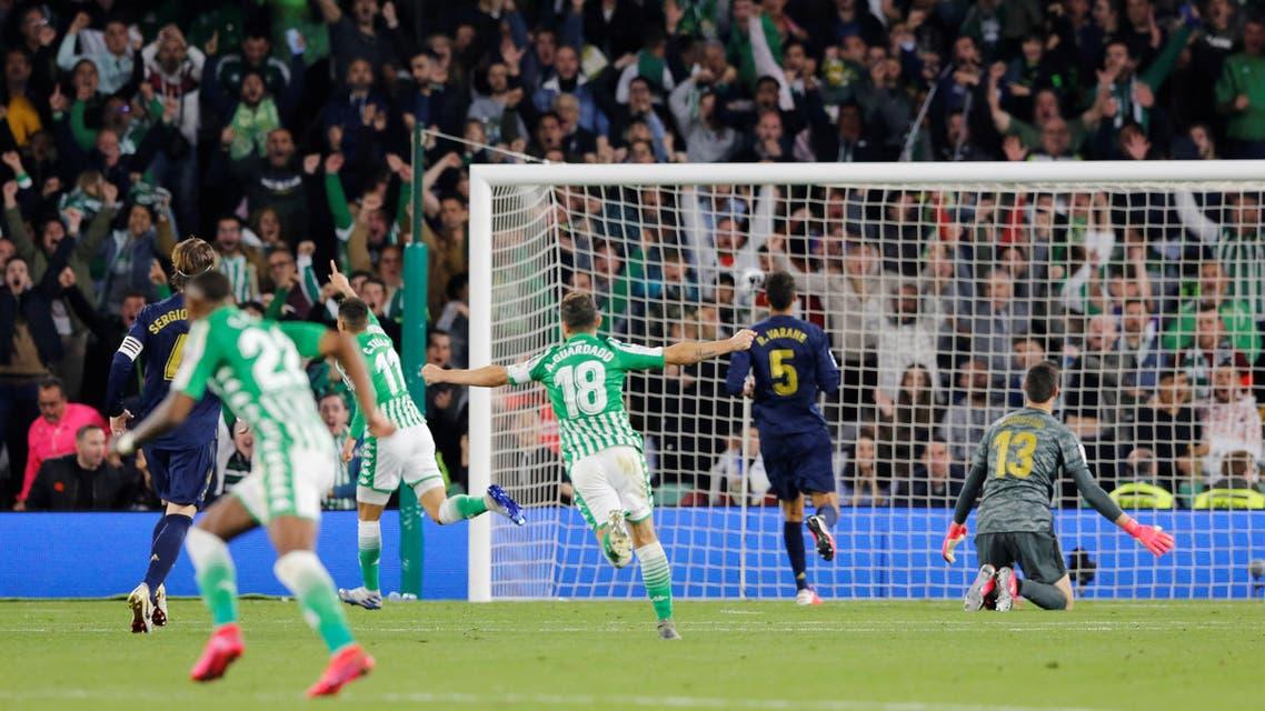 ريال مدريد ريال بيتيس