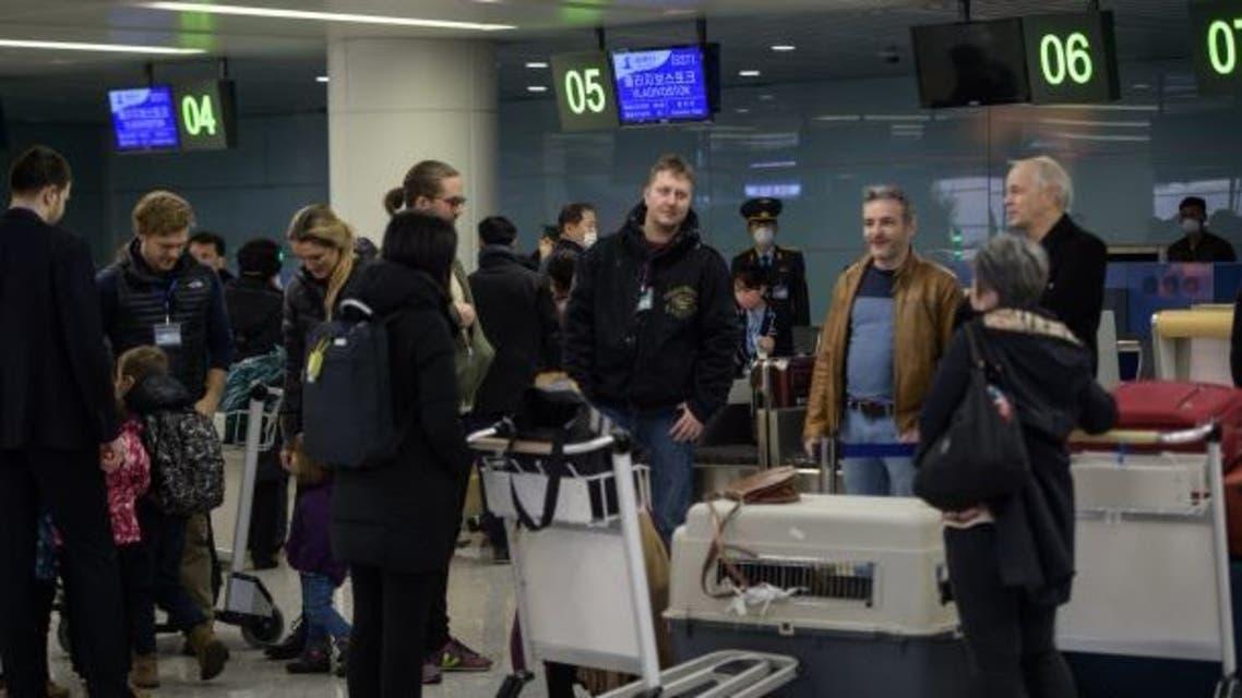 دبلوماسيون أجانب يغادرون كوريا الشمالية فرانس برس
