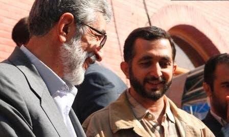 Farideddin Hadad Adel (Right)