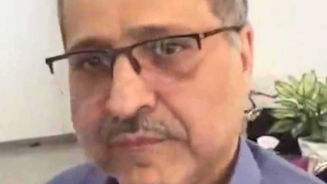 Mahmoud Reza Peyravi. (Screengrab)