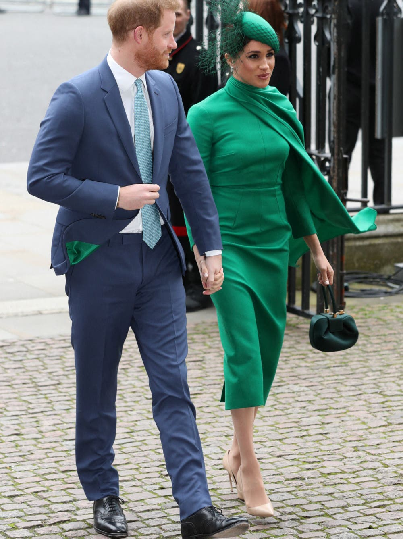 ميغان ماركل برفقة الأمير هاري