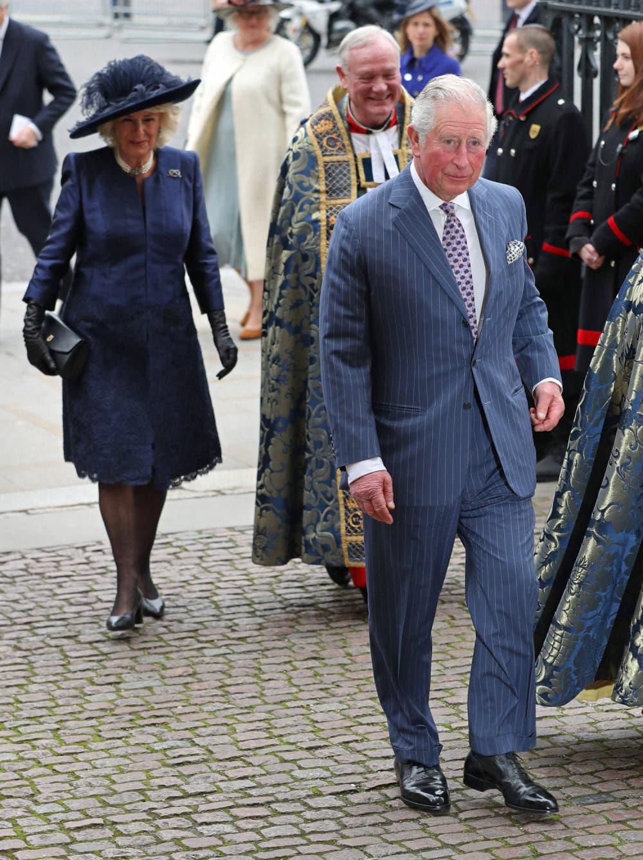 الأمير تشارلز وزوجته كاميللا