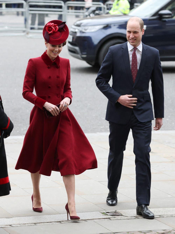 الأمير ويليام وزجته كايت ميدلتون
