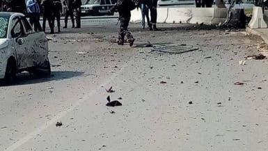 شاهد لحظة تفجير انتحاريي تونس نفسيهما قرب سفارة أميركا